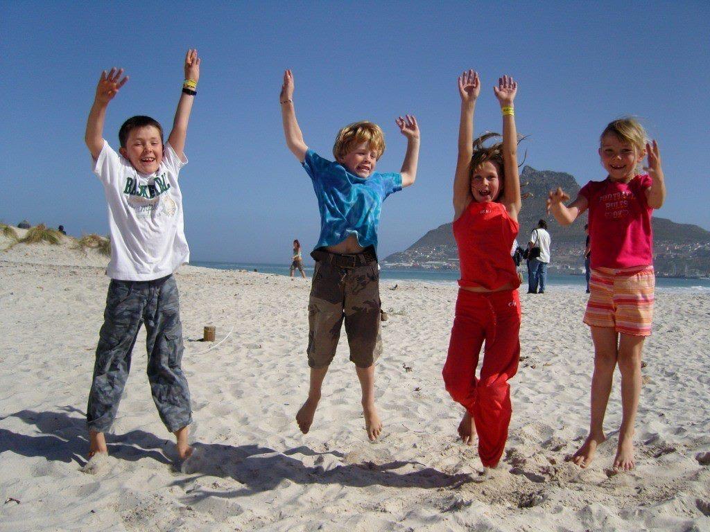 Gerla de Boer Capetown kids