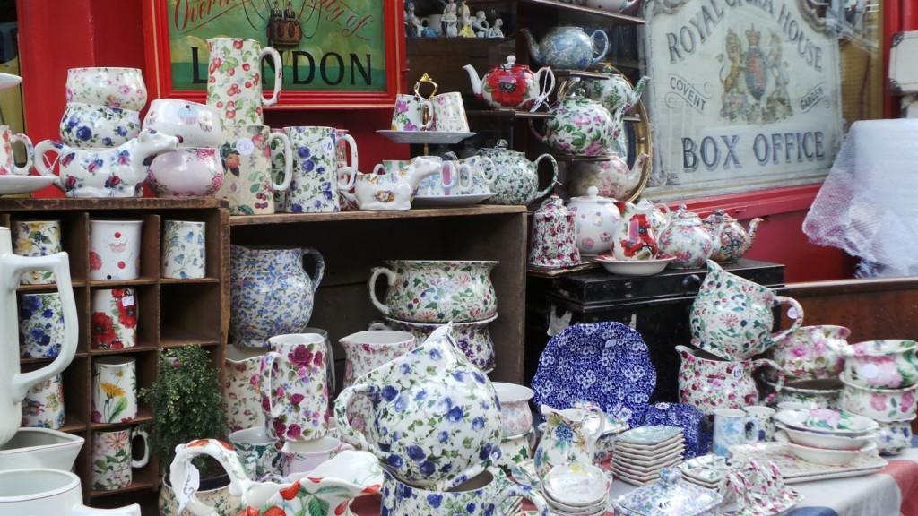 Gerla de Boer Portobello Road tea pots
