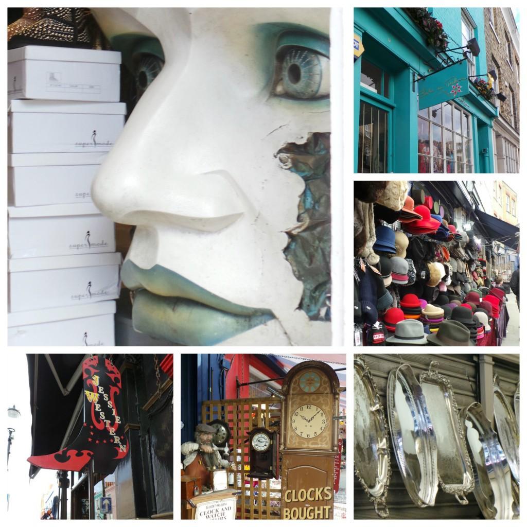 Gerla de Boer Portobello road shops