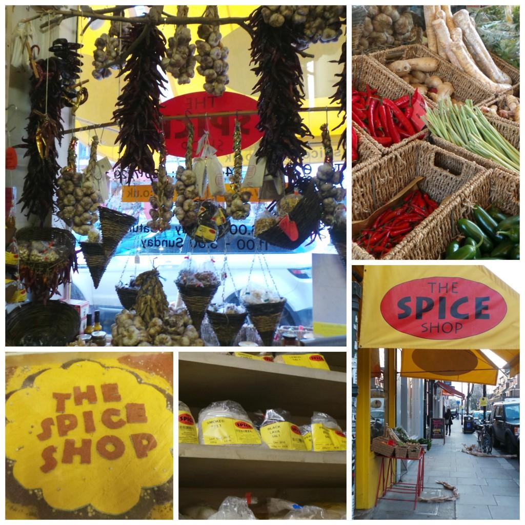 Gerla de Boer Portobello Road spice shop