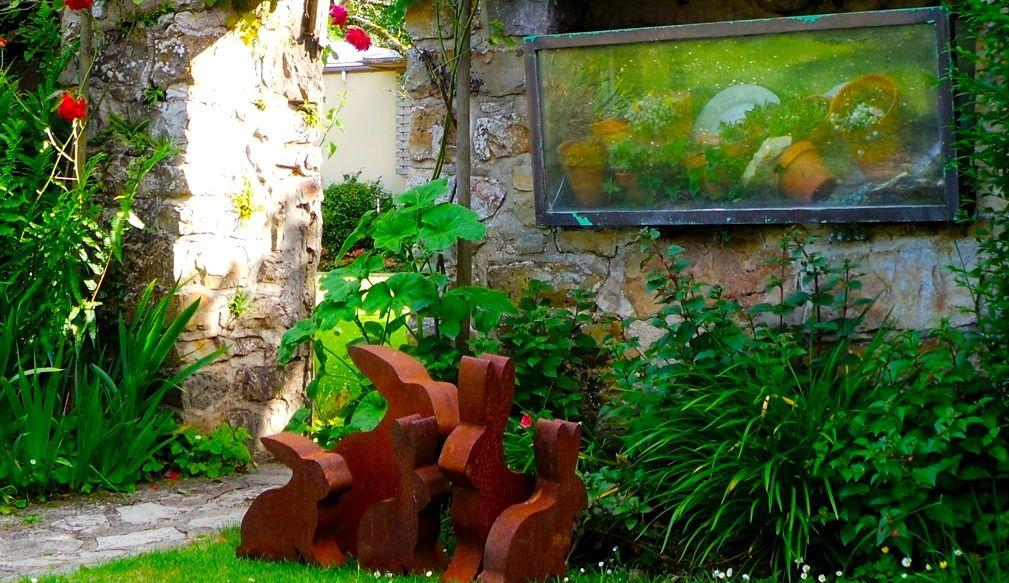 Gerla de Boer Manoir du Lys garden