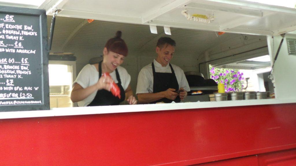 Gerla de Boer Steak and honour
