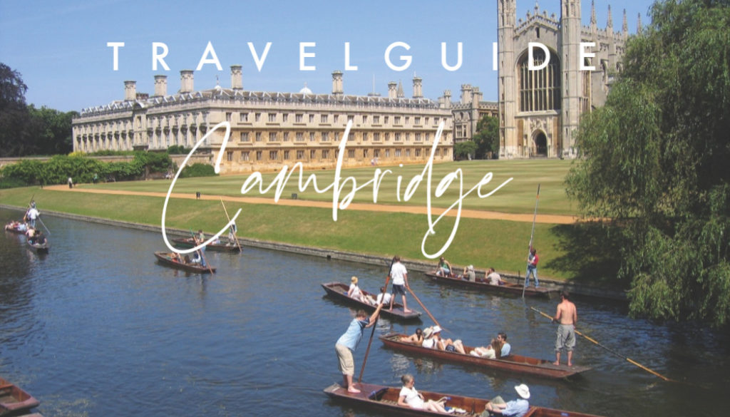 gerla de boer Travel guide Cambridge