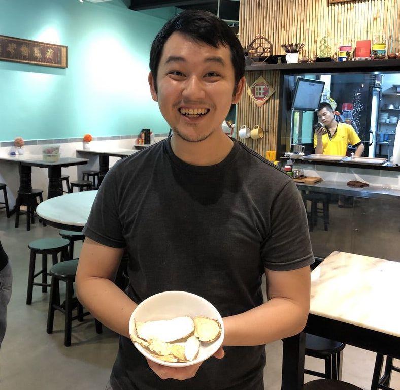 Gerla de Boer Singapore food tour
