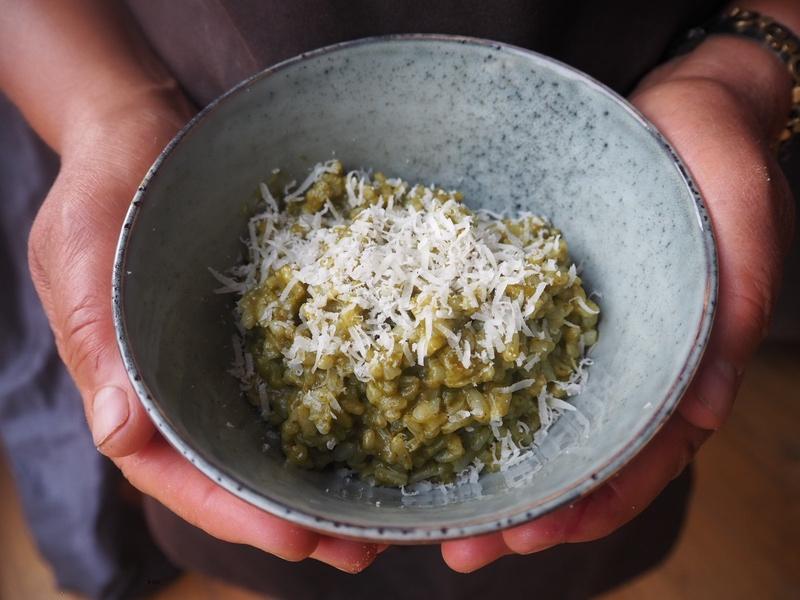Gerla de Boer risotto lettuce